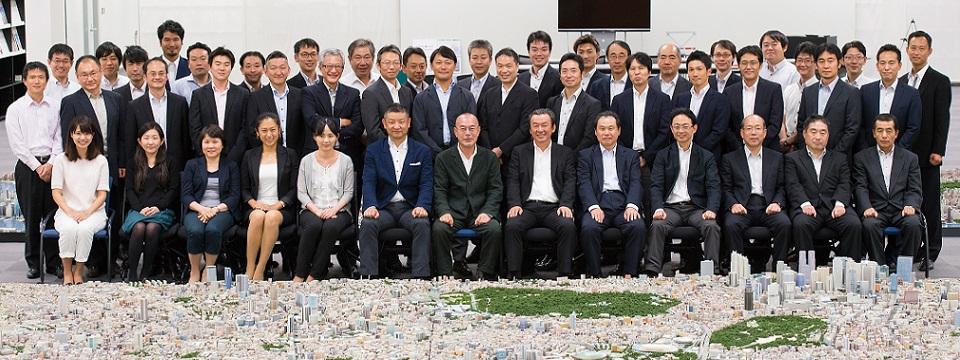 東京を磁力ある世界一の都市に変革する大規模都市再開発のプロフェッショナル集団