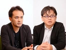 安井謙介(左)