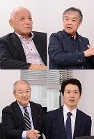 中野 隆(写真左上)